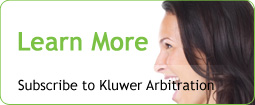Kluwer Arbitration rock