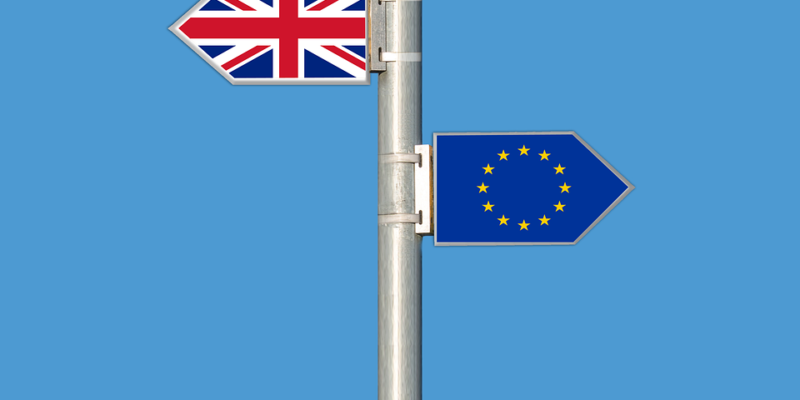 UK one way, EU the other