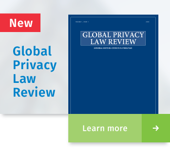 wolters Kluwer - Global Privacy Law Review